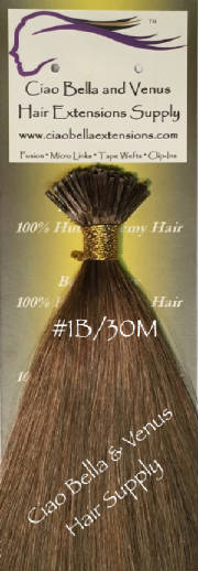 Buy the best human remy hair extensions brands online micro bead luxury remy hair 18 in st color 1b 30m pmusecretfo Gallery