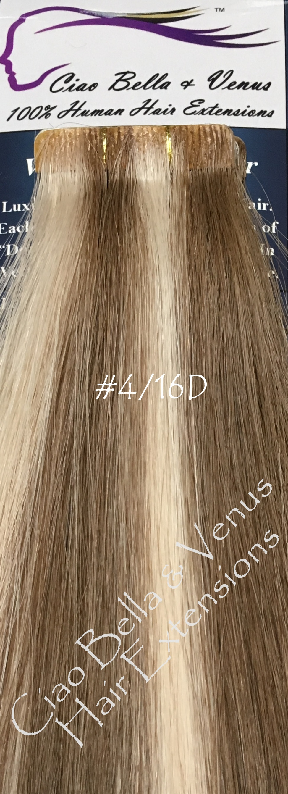 New Invisible Tape In Hair Extensions 20 Inch 416d